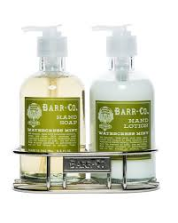 Soothing Scent Designs Amazon Com Barr Co Watercress Mint Hand Soap Lotion Duo