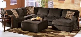 Vista Chocolate Sectional by Ashley Furniture Tenpenny