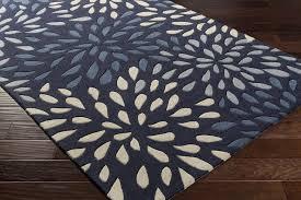 surya cosmopolitan cos 9265 navy beige grey area rug