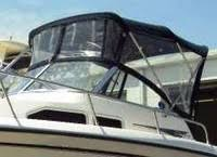 grady white® boats factory original oem canvas covers t grady white voyager 258 2003 bimini top visor side curtains