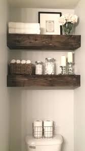 towel storage above toilet. Bathroom Floating Shelves Above Toilet Renovation Reveal Hanging Cabinet Over . Towel Storage