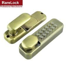digital office door handle locks. Rarelock Christmas Supplies Mechanical Combination Door Handle Locks Push Button Keyless Digital Deadbolt Office Lock A-in From Home Improvement