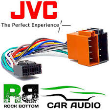jvc kd r451 model car radio stereo 16 pin wiring harness loom iso image is loading jvc kd r451 model car radio stereo 16
