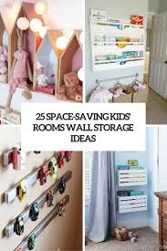 space saving kids room wall storage ideas cover