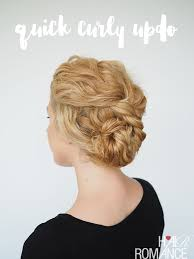 Hairstyles For Frizzy Hair 54 Best 24 Min Updo For Curly Hair Hair Romance
