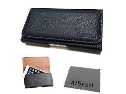 for htc one max verizon sprint sideways leather sleeve pouch case belt clip