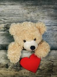 preview wallpaper teddy bear heart valentines day love