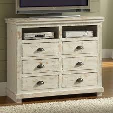 distressed white furniture. Brilliant White Willow Media Chest Distressed White By Progressive Furniture For Distressed White T