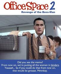 pics of office space. Mitt Romney Starring In: Office Space 2 Pics Of I