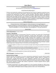 Human Resources Manager Job Seeking Tips Resume Companion
