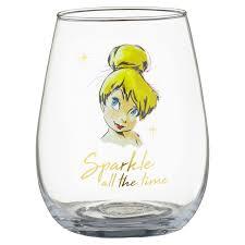 337239 disney tumbler glass set tinkerbell 3