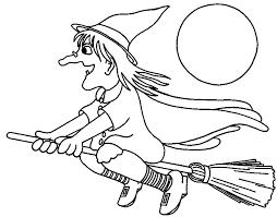 Kleurplaten Halloween Met Vampiers En Heksen Hobbyblogonl