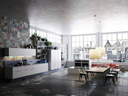 Home Designs: Convertible Loft Sofa - Interior Design Inspiration
