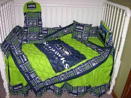 crib bedding set m w seattle seahawks fabric for kristi