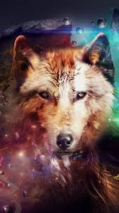 Magic Wolf Wallpaper for iPhone 6 Plus