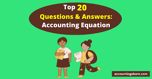 and answers accounting equation