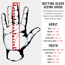 Batting Glove Size Chart Franklin Franklin Sports Mlb Cold Weather Pro Batting Gloves Retired Colors