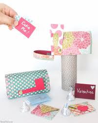 Valentine Papercraft Free Printable Mailbox Mini Valentines Day
