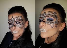 masquerade mask makeup lace mask carnival new year magdalena mazur make up artist drogheda ie
