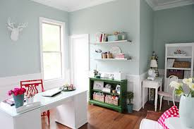 home office craft room design ideas for exemplary craft rooms the inspired room concept blue office room design