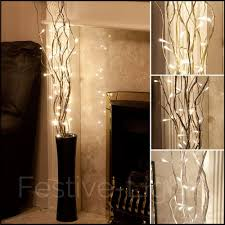 Christmas Branch Lights Twig Details About 87cm Plug In Twig Branch Decoration With Led