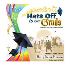 Graduation Cover Photo Graduation 2015 By Daily News Record Issuu
