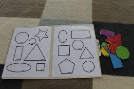 Freebies Colorful Shapes Matching File Folder Printable Game Free Printable Folder Games For ToddlerslllL