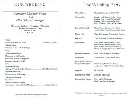wedding program wording ideas elegant luxury ceremony brochure templates of inspirational modern contemporary pr word template wedding program