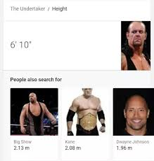 What Are The Actual Heights Of Wwe Superstars Quora