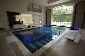 Classic indoor pool design