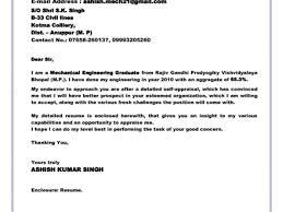 25 Cover Letter Sample Mechanical Engineer Mechanical Design Best