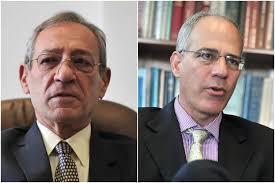 Imad Nabil Jada'a, jefe de la Misión Especial de Palestina en Colombia y Yoed Magen, embajador de Israel en Colombia. / David Campuzano - Luis Ángel - 92040dd58f1a78fa6a093aeaa4dbb04e