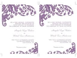 Wedding Template Microsoft Word Formatted 2 Page Wedding Invitation Templates Microsoft Word