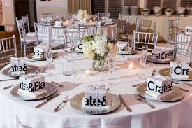 round or rectangular table