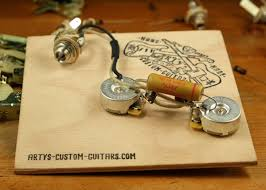 artys custom guitars telecaster standard wiring kit pre wired arty s custom guitars vintage pre wired prewired kit wiring assembly harness artys 1951 51 precision
