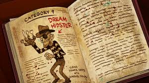 gravity falls book 3 pages all image s2e10 dream hipster gravity falls wiki of gravity falls