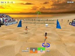 picture 1 beach volleyball play