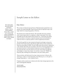 Ideas of Persuasive Letter To The Editor Sample About Sample