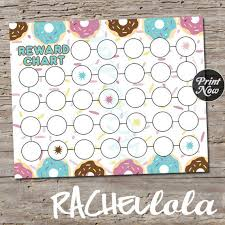 Download Reward Chart Donut Reward Chart For Kids Printable Instant Digital