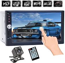 7 inch <b>Touch Screen Double Din Car</b> Stereo, Support: Amazon.co.uk ...