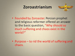 Zoroastrianism Vs Christianity Chart Ancient Religions And Beliefs Buddhism Christianity