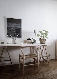 small space home office designs arrangements6. cozy home in natural tints via coco lapine design office spaceshome small space designs arrangements6