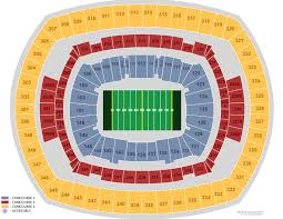 Giants Stadium Football Seating Chart Giants Seating Chart Football Metlife Stadium Section 133