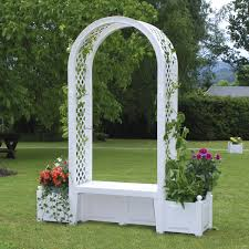 white garden arch uk designs