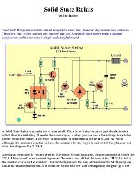 electronics schematic circuits for the hobbyist back to circuits page 43