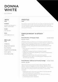 Guide Event Planner Resume 12 Samples Pdf Word 2019