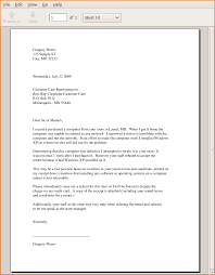 a business letter format example sample formal business letter
