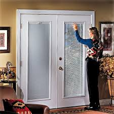 french doors with built in blinds. Blinds For French Doors \u2013A Way To Secure And Beautify Your Home | Drapery Room With Built In