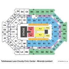 Fsu Civic Center Seating Chart 48 Unmistakable Tallahassee Leon County Civic Center Seating