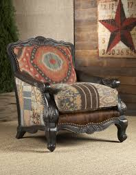 Living Room Chair With Ottoman Southwestern Buckley Chair Chairs Ottomans Living Room